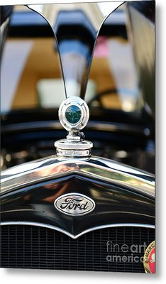 1931 Ford Model A Metal Print by Paul Ward