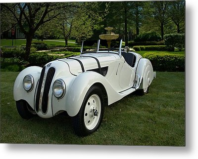 1937 Bmw 328 Roadster Metal Print by Tim McCullough