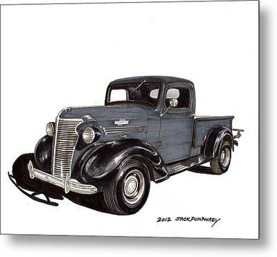1938 Chevy Pickup Metal Print by Jack Pumphrey