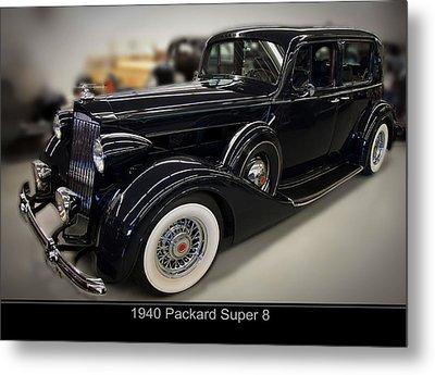 1940 Packard Super 8 Metal Print by Chris Flees