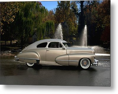 1947 Cadillac Coupe Rodtique Metal Print by Tim McCullough