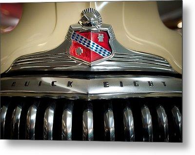 1948 Buick Roadmaster Metal Print by Sebastian Musial