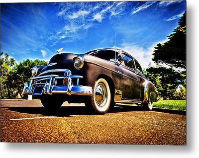 1949 Chevrolet Deluxe Metal Print by motography aka Phil Clark