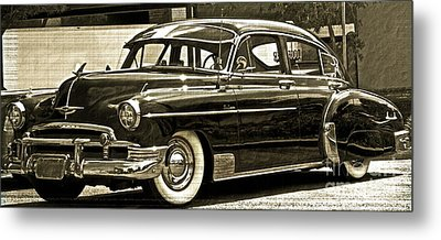 1950 Chevrolet Metal Print by Gwyn Newcombe