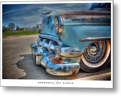 1954 Chevy Metal Print by Heath Hartwig