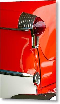 1955 Oldsmobile Taillight Metal Print by Jill Reger