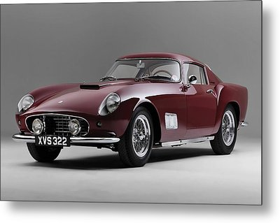 1956 Ferrari Gt 250 Tour De France Metal Print by Gianfranco Weiss