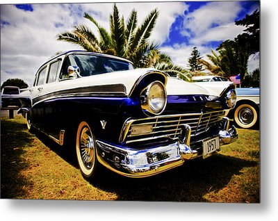 1957 Ford Custom Metal Print by motography aka Phil Clark