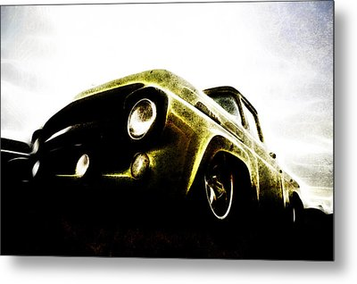 1957 Ford F100 Pickup Metal Print by motography aka Phil Clark
