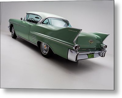 1958 Cadillac Deville Metal Print by Gianfranco Weiss