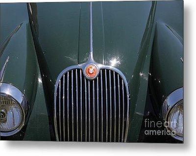 1959 Jaguar Xk150 Dhc 5d23301 Metal Print by Wingsdomain Art and Photography