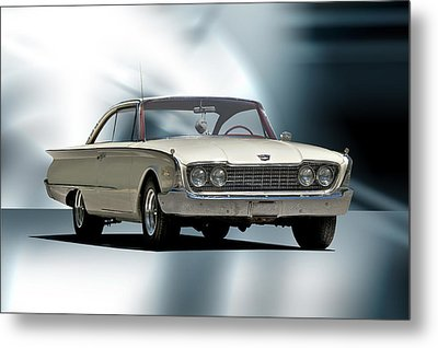 1960 Ford Starliner Metal Print by Dave Koontz