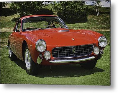 1963 Ferrari 250 Gt Lusso Metal Print by Sebastian Musial