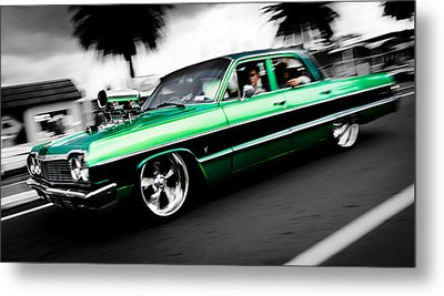 1964 Chevrolet Impala Metal Print by Phil 'motography' Clark