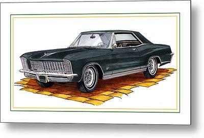 1965 Buick Riviera Custom Metal Print by Jack Pumphrey