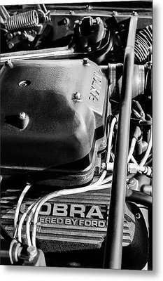 1965 Shelby Prototype Ford Mustang Paxton Metal Print by Jill Reger