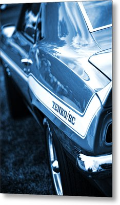 1969 Chevrolet Camaro Yenko Sc 427 Metal Print by Gordon Dean II