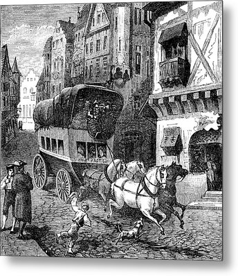 19th Century Munich Metal Print by Collection Abecasis