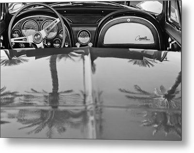 1965 Chevrolet Corvette Sting Ray Metal Print by Jill Reger