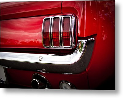 1966 Ford Mustang Metal Print by David Patterson