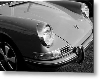 1968 Porsche 911 Front End Metal Print by Jill Reger