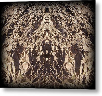 Abstract 25 Metal Print by J D Owen