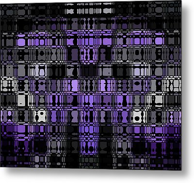 Abstract 90 Metal Print by J D Owen