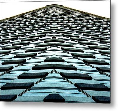 Abstract Buildings 1 Metal Print by J D Owen