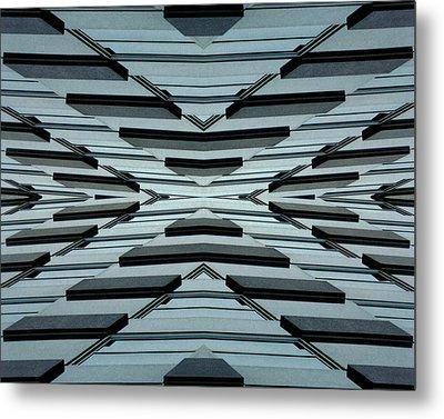 Abstract Buildings 3 Metal Print by J D Owen