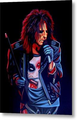Alice Cooper  Metal Print by Paul Meijering
