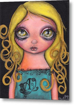 Alicia Metal Print by  Abril Andrade Griffith
