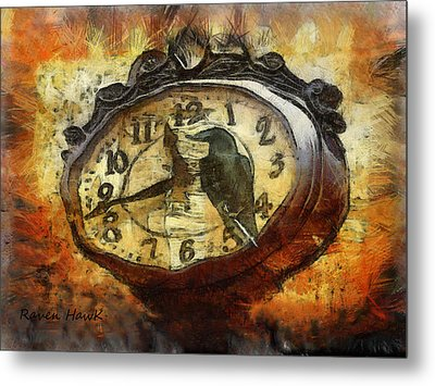 Almost Time Metal Print by The Feathered Lady