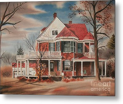 American Home IIi Metal Print by Kip DeVore