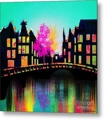 Amsterdam Metal Print by Mark Ashkenazi