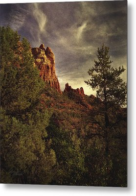 Another View Of Snoopy Rock Metal Print by Robert Albrecht