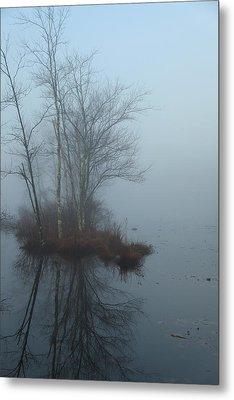As The Fog Lifts Metal Print by Karol Livote