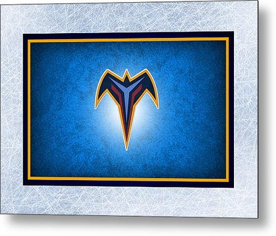 Atlanta Thrashers Metal Print by Joe Hamilton