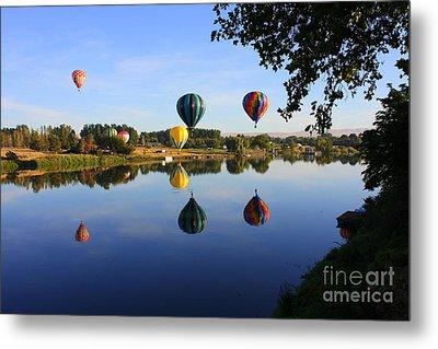 Balloons Heading East Metal Print by Carol Groenen