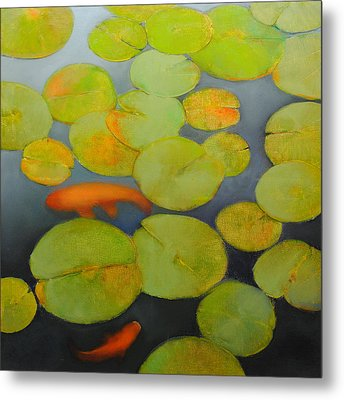 Big Koi Sold Metal Print by Cap Pannell