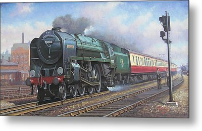 Britannia Pacific. Metal Print by Mike  Jeffries