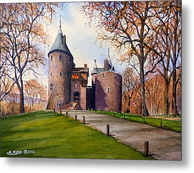 Castell Coch  Metal Print by Andrew Read