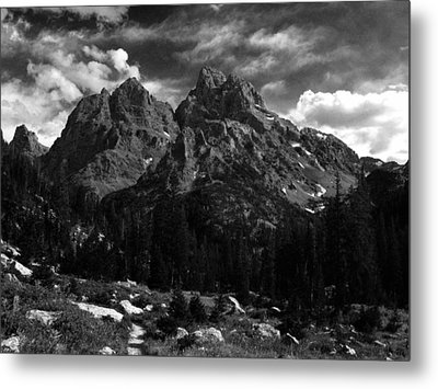 Cathedral Group From The Northwest Metal Print by Raymond Salani III