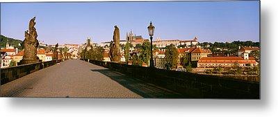 Charles Bridge, Prague, Czech Republic Metal Print by Panoramic Images