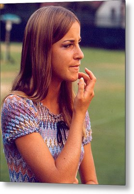 Chris Evert Metal Print by Retro Images Archive