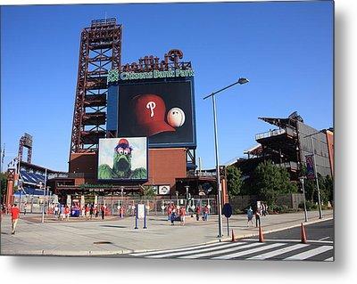 Citizens Bank Park - Philadelphia Phillies Metal Print by Frank Romeo