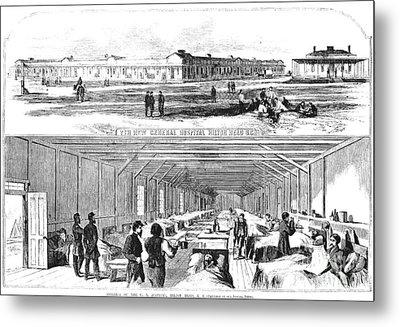 Civil War Hospital Metal Print by Granger