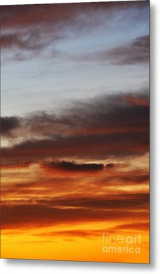 Cloudscape At Sunrise Metal Print by Sami Sarkis