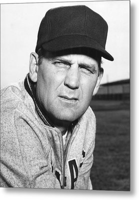 Coach Bear Bryant Metal Print by Retro Images Archive
