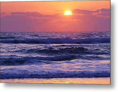 Dawn Of A New Day Metal Print by Bruce Bley