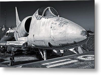 Douglas Skyhawk A-4b Metal Print by Gregory Dyer